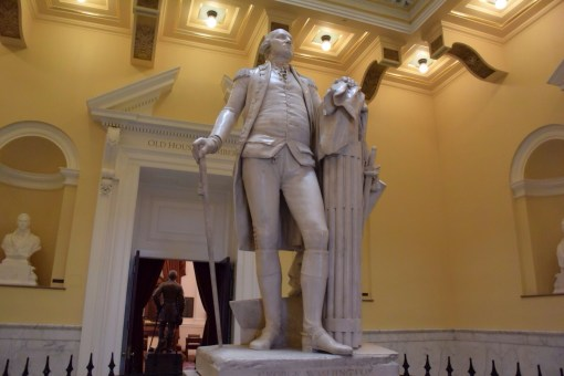 George Washington Statue in Virginia State Capital