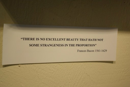 There is no excellent beauty that hath not some strangeness in the proportions. - Frances Bacon