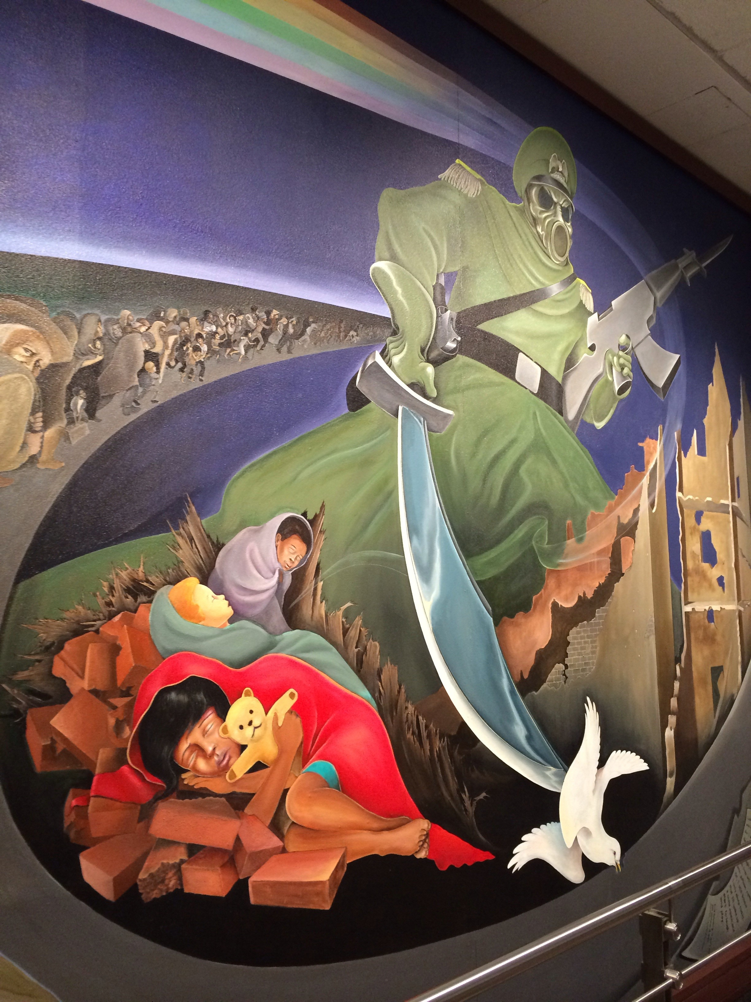 Eerie Murals At The Denver Airport Have Conspiracy Theorist Buzzing. Part 47