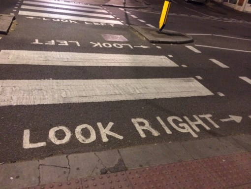 If you have to paint this on your streets, you're driving wrong.