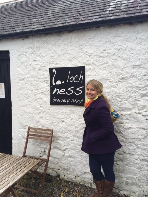 Loch Ness Brewery at the Benleva Hotel in Drumnadrochit, Scotland.