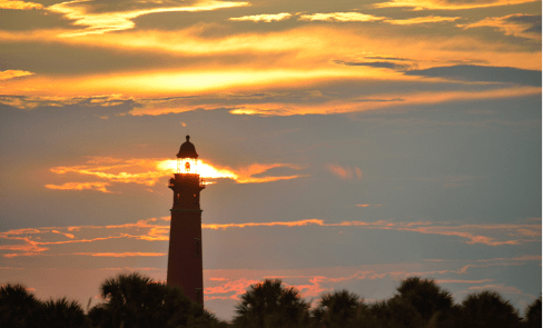 Ponce Inlet Lighthouse (photo courtesy of Daytona Beach)