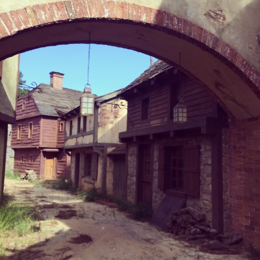 "The set of the Fox series ""Salem"" in Shreveport, LA"