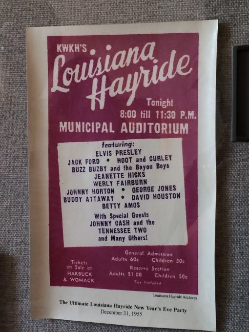 The Louisiana Hayride at the Shreveport Municipal Auditorium