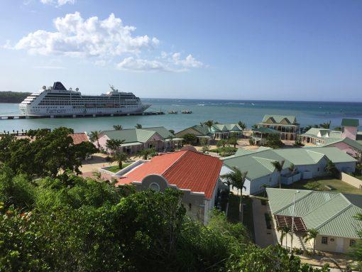 Amber Cove port in the Dominican Republic