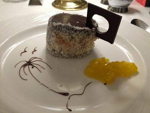 Dessert aboard the Fathom Adonia