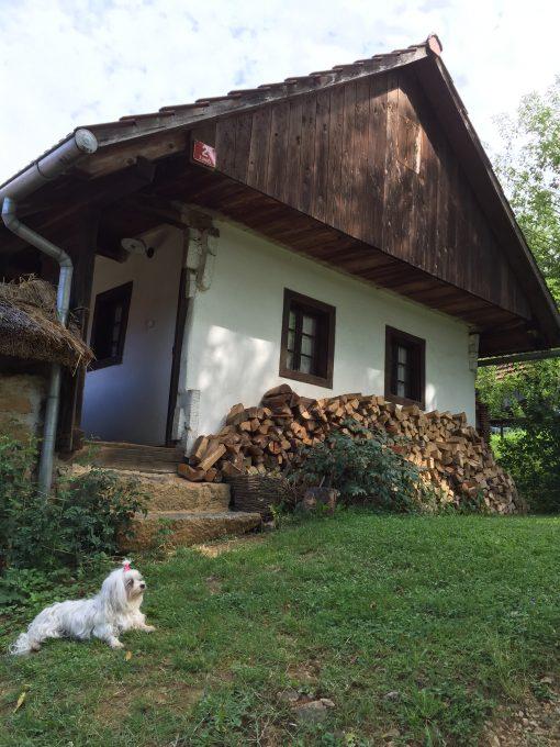 Šokčev dvor open air museum in Bela Krajina, Slovenia