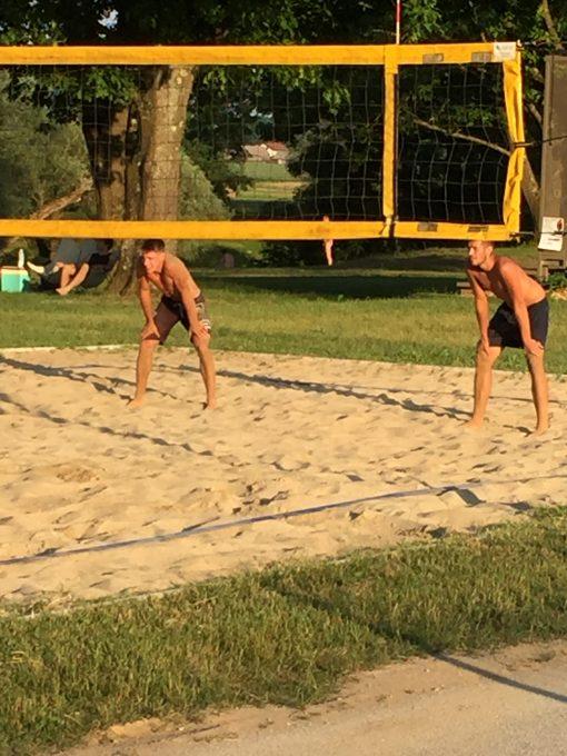 Beach Volleyball tournament at Big Berry Camp in Primostek, Slovenia