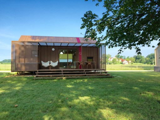 Glamping at Big Berry camp in Primostek, Slovenia