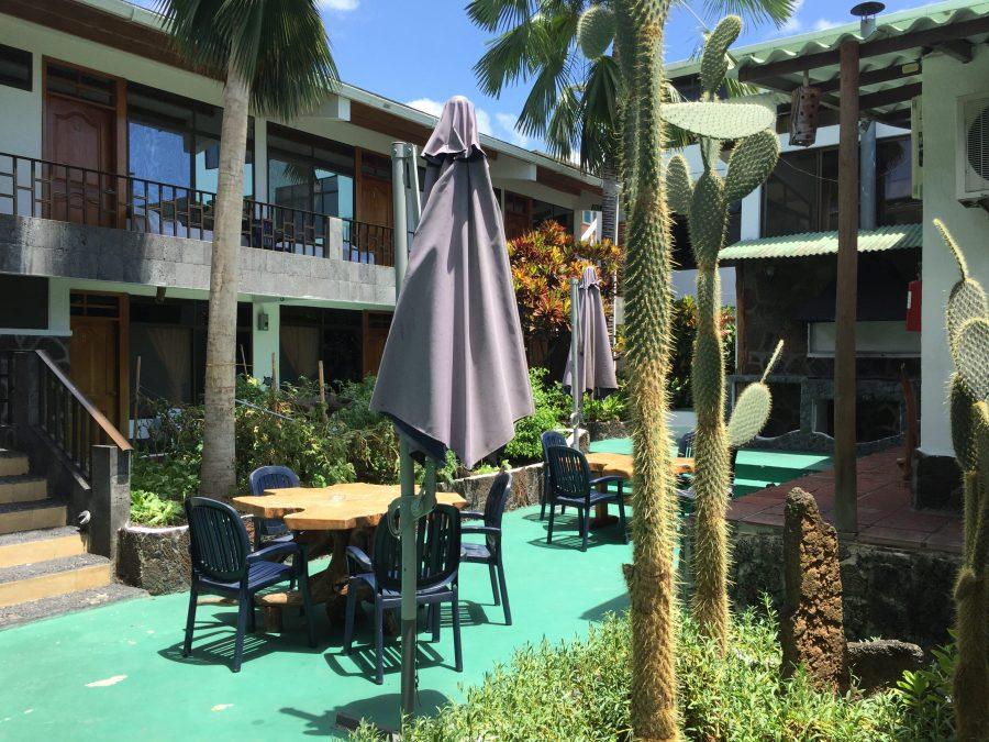 Hotel Fernandina in Puerto Ayora, Santa Cruz in the Galapagos Islands