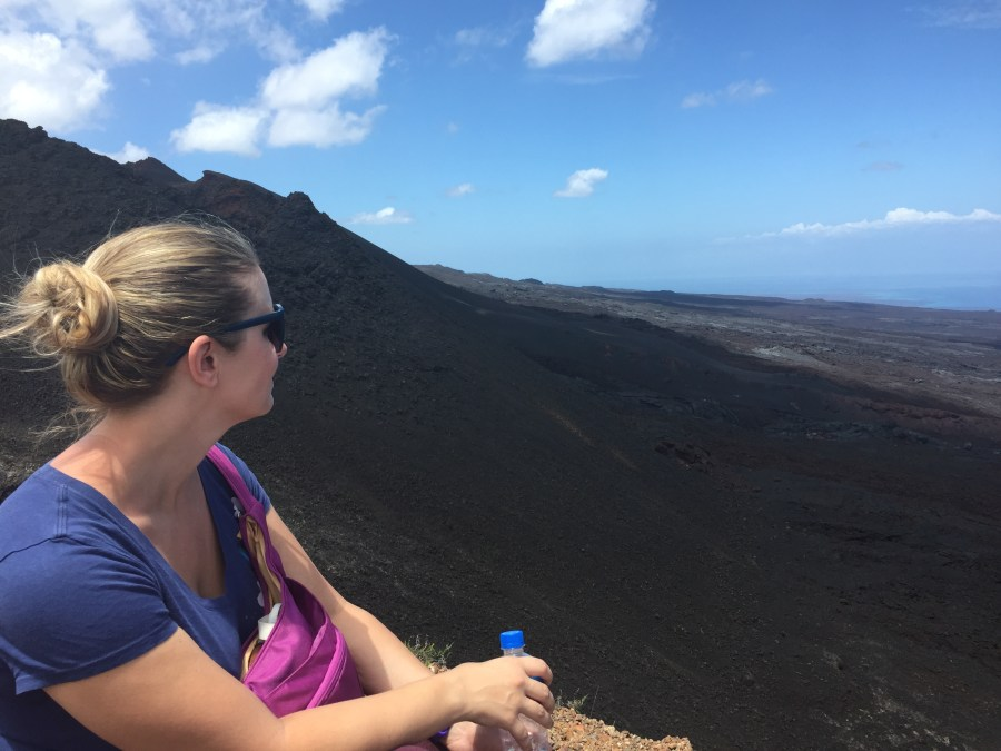 Sierra Negra and Volcan Chico on Isla Isabela in the Galapagos Islands is other worldly!