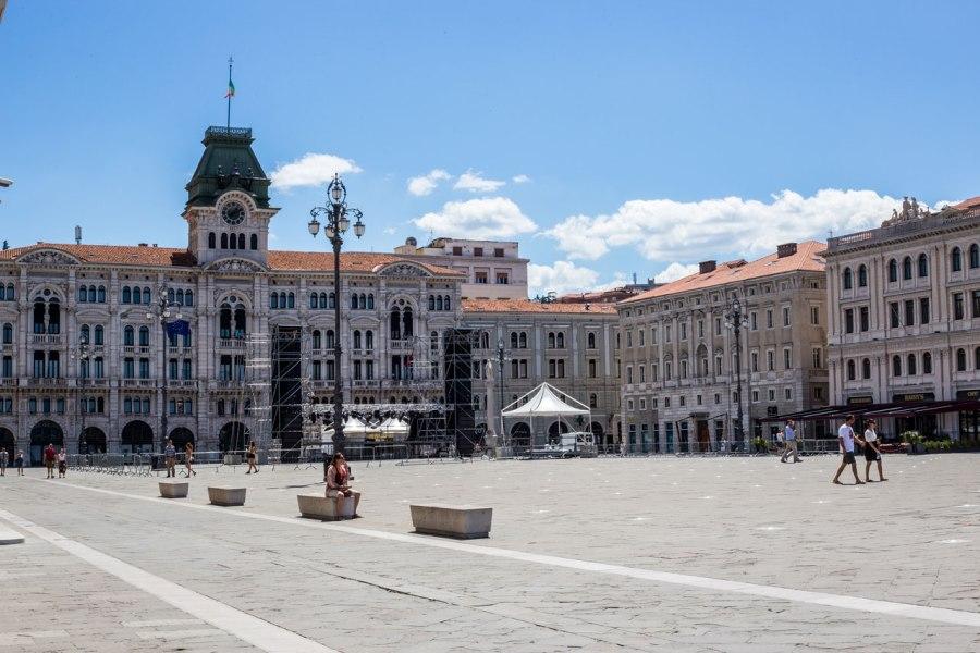 Piazza Unità d'Italia, Trieste's Main Square