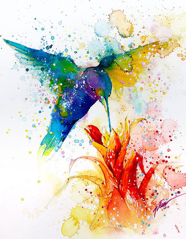 2-colorful-animal-watercolor-paintings-tilen-ti-9