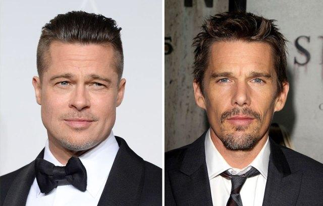 3-Brad Pitt : Ethan Hawke