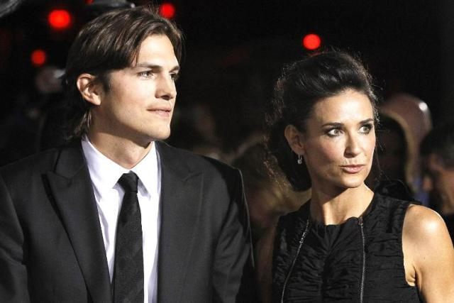 2.Demi Moore ve Ashton Kutcher
