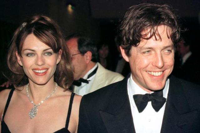 4.Elizabeth Hurley ve Hugh Grant