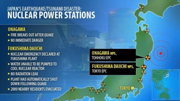 Earthquake/Tsunami hits Japan 2011 (Pictures/Video) (1/6)