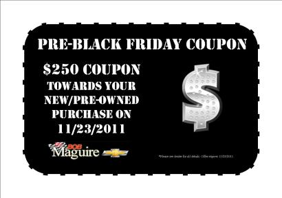 pre black friday 250 coupon