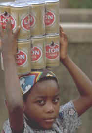 Young Girl in Mozambique