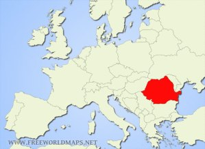 Here you can see where Romania is
