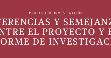 Banner - Proyecto vs Informe