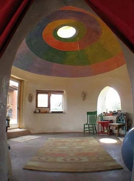 Földzsák kupola, forrás: cocreatingourreality.com