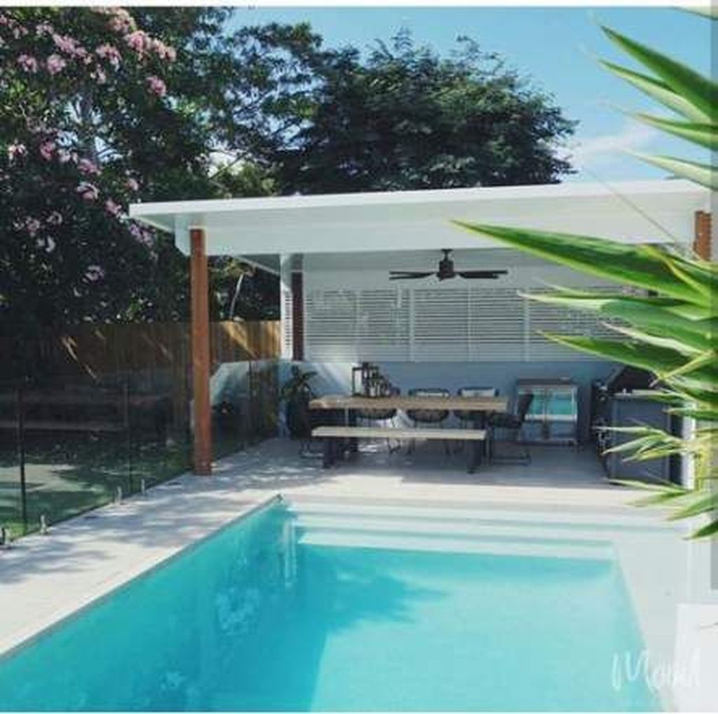 Gorgeous Summer Outdoor Pool Design Ideas 14