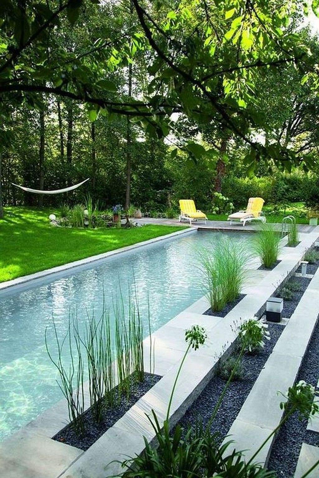 Gorgeous Summer Outdoor Pool Design Ideas 15