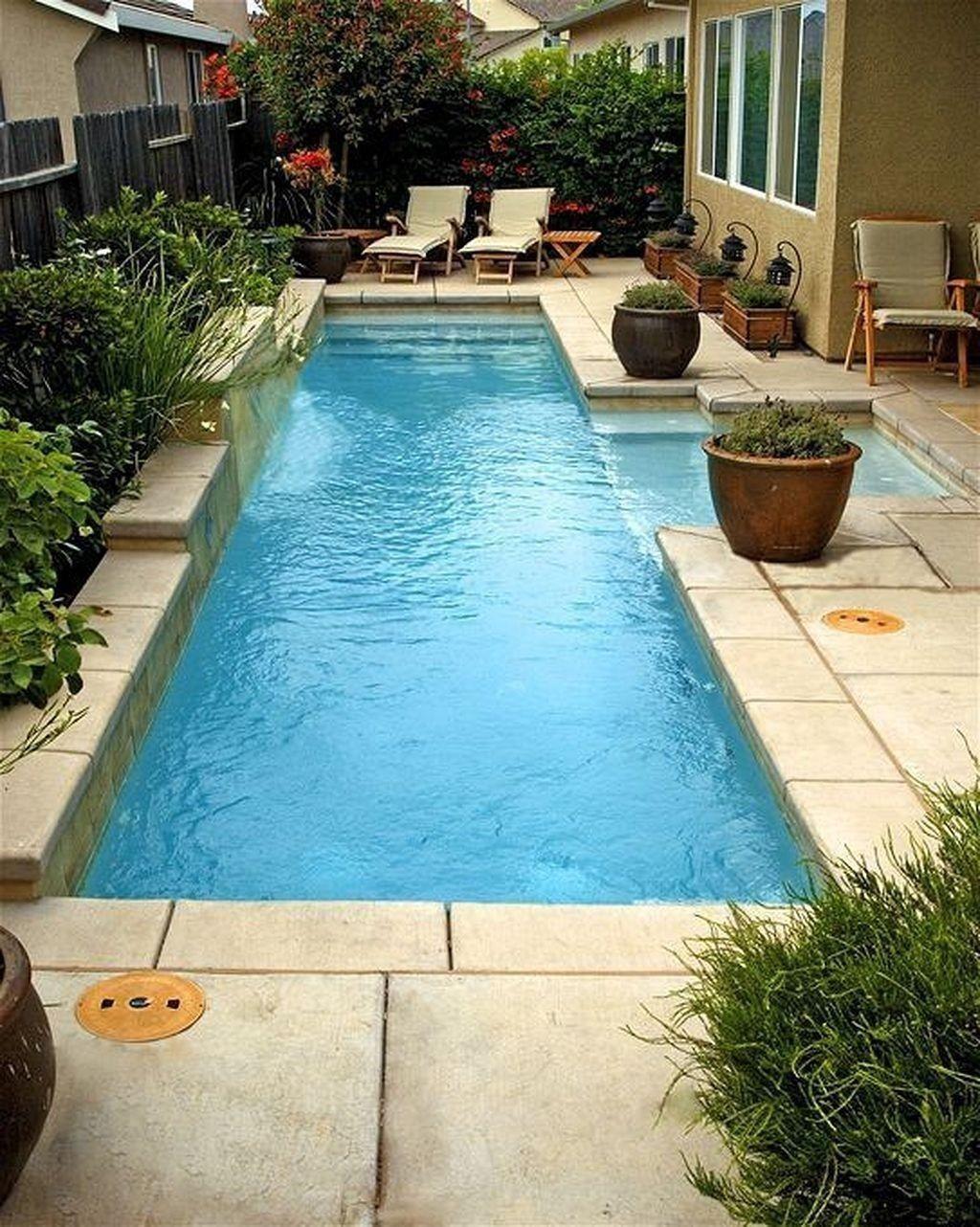 Gorgeous Summer Outdoor Pool Design Ideas 25