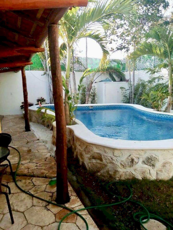 Gorgeous Summer Outdoor Pool Design Ideas 27