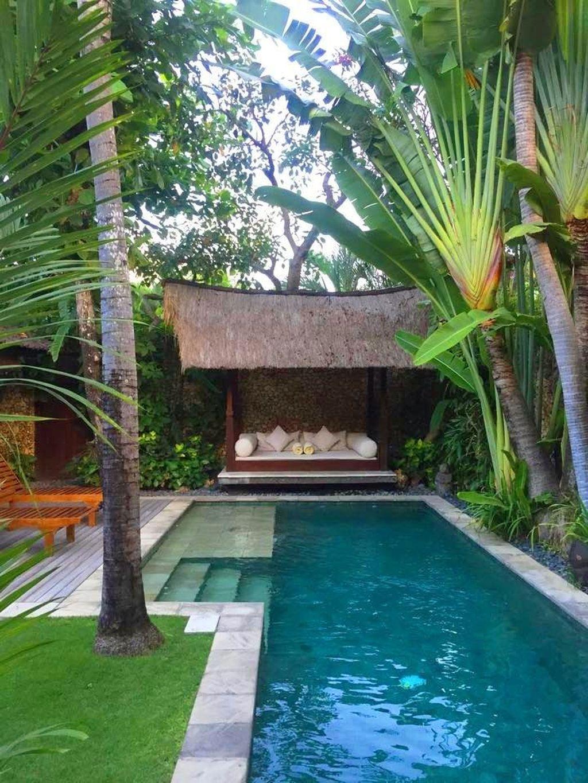 Gorgeous Summer Outdoor Pool Design Ideas 32 - MAGZHOUSE