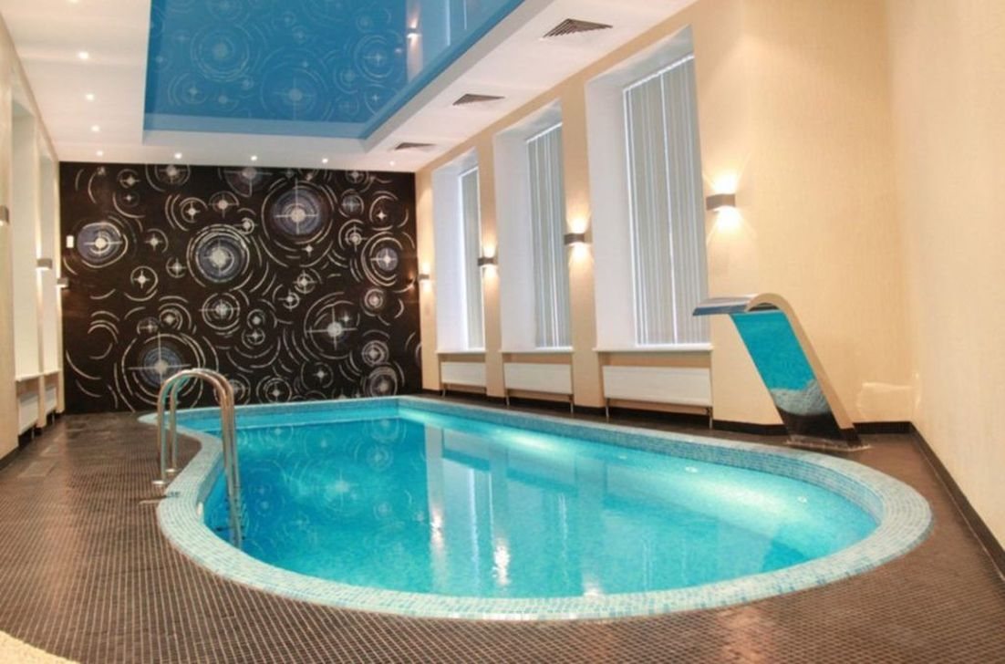 Lovely Small Indoor Pool Design Ideas 21