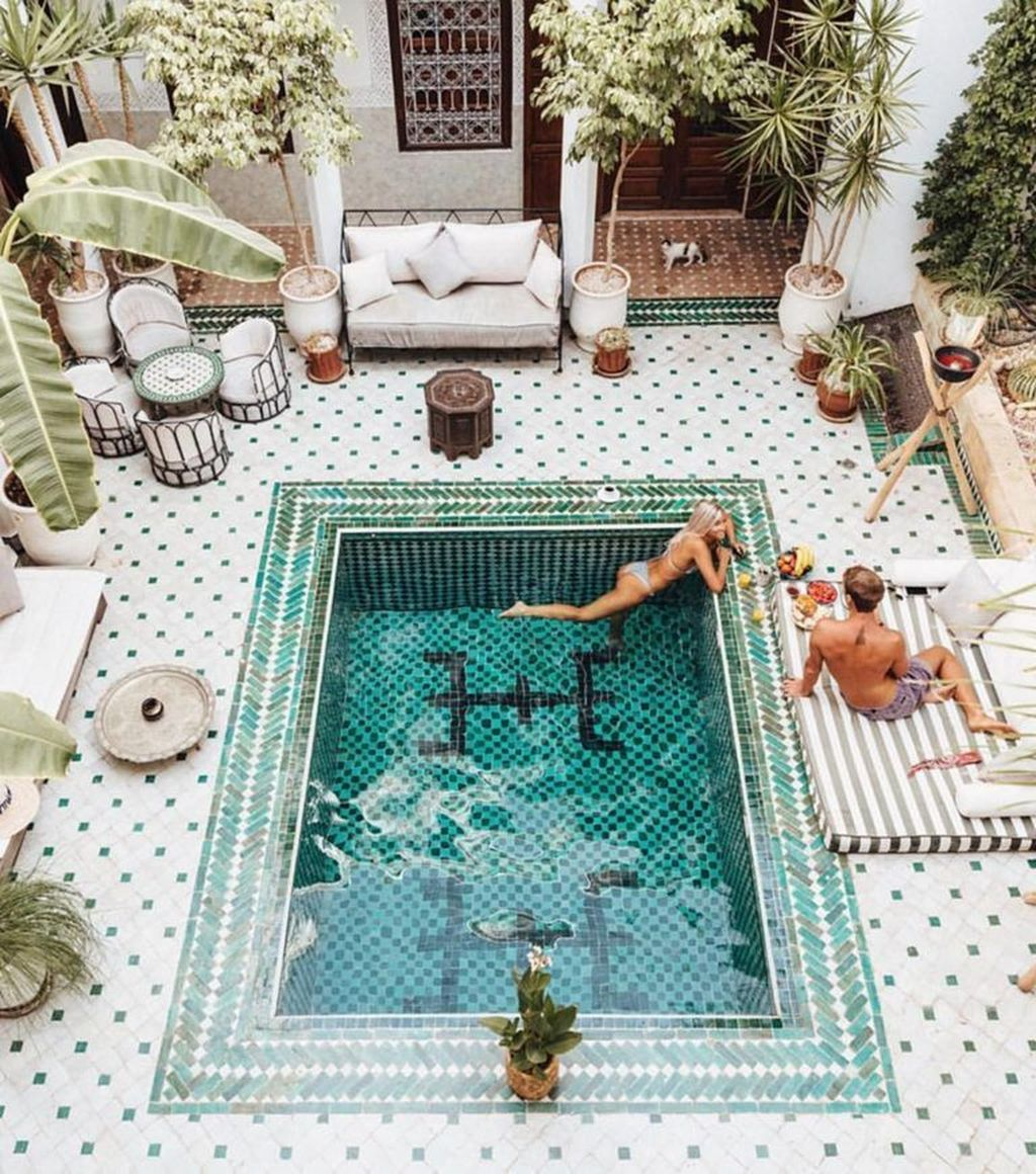 Lovely Small Indoor Pool Design Ideas 26