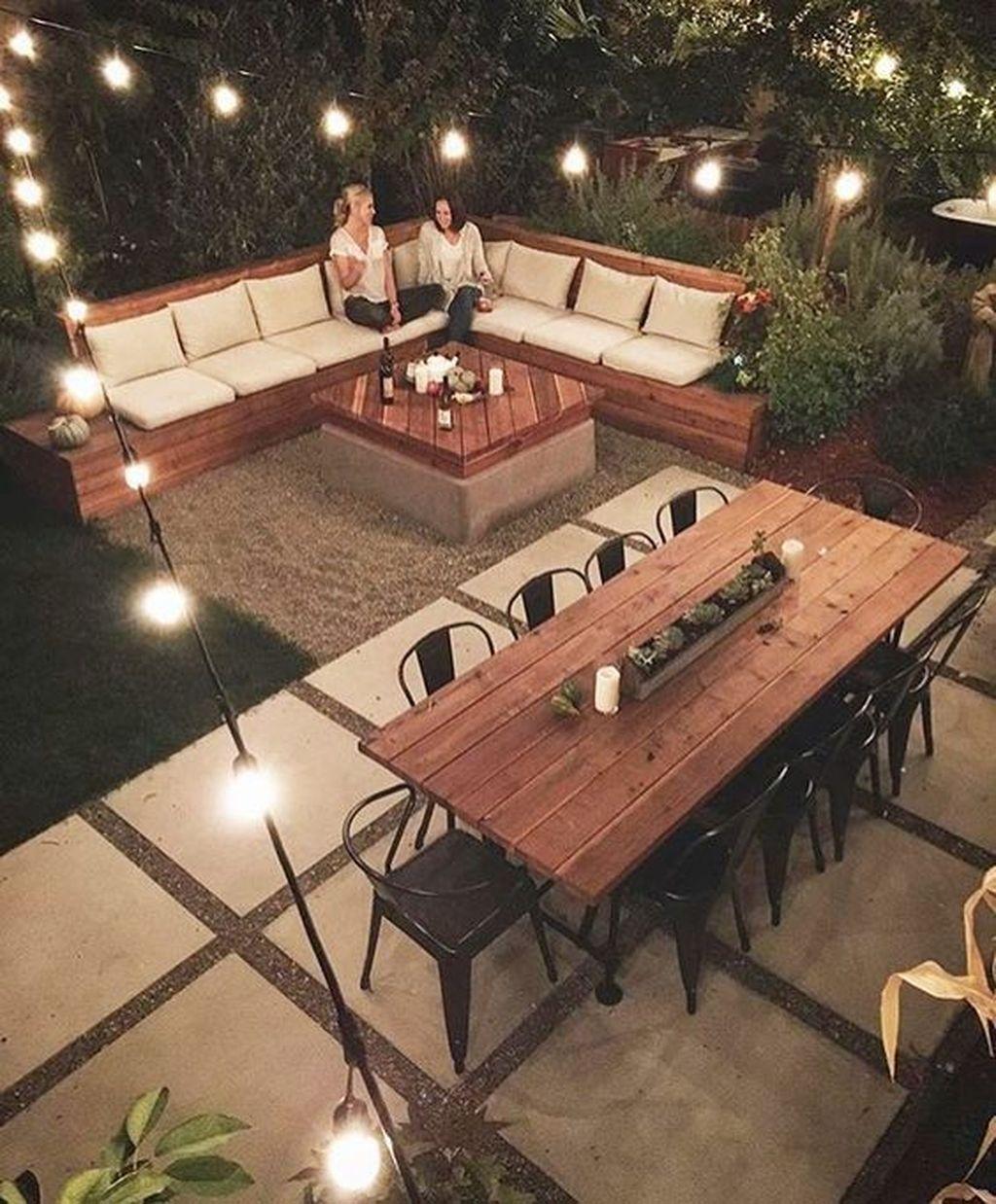 Stunning Summer Backyard Decoration Ideas 14