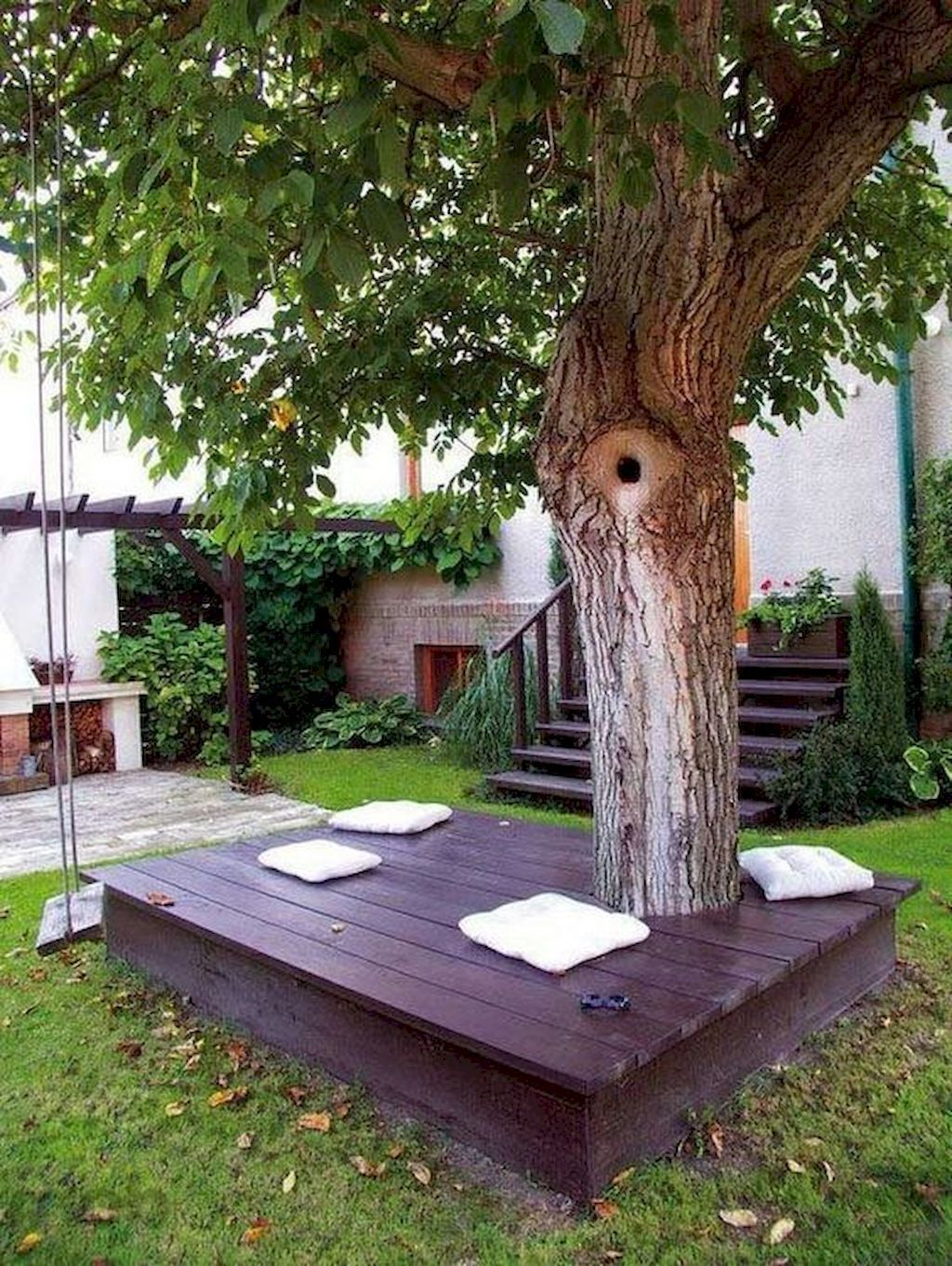 Stunning Summer Backyard Decoration Ideas 32