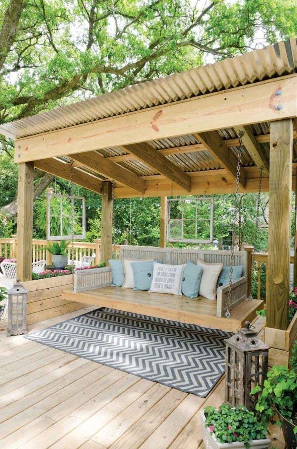 Stunning Summer Backyard Decoration Ideas 33