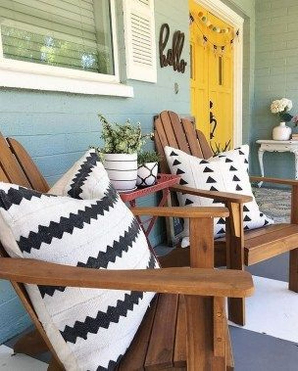 The Best Front Porch Ideas For Summer Decorating 07
