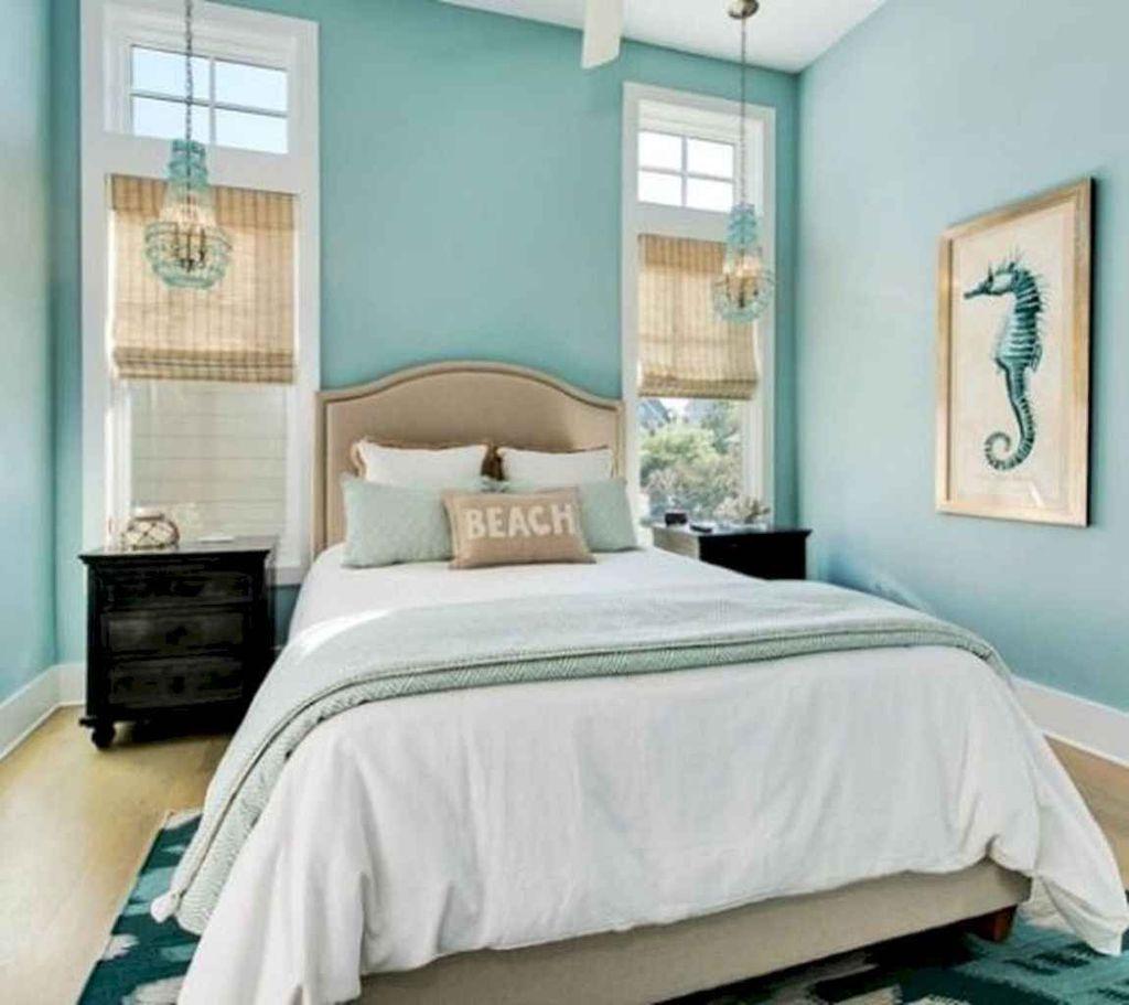 Wonderful Modern Coastal Bedroom Decoration Ideas 26