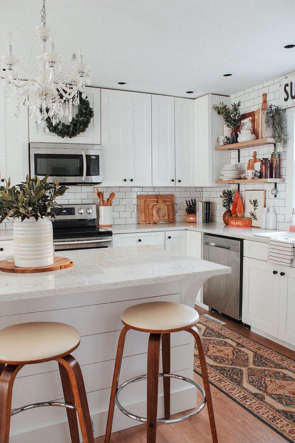 Amazing Bohemian Farmhouse Living Room Design Ideas 28