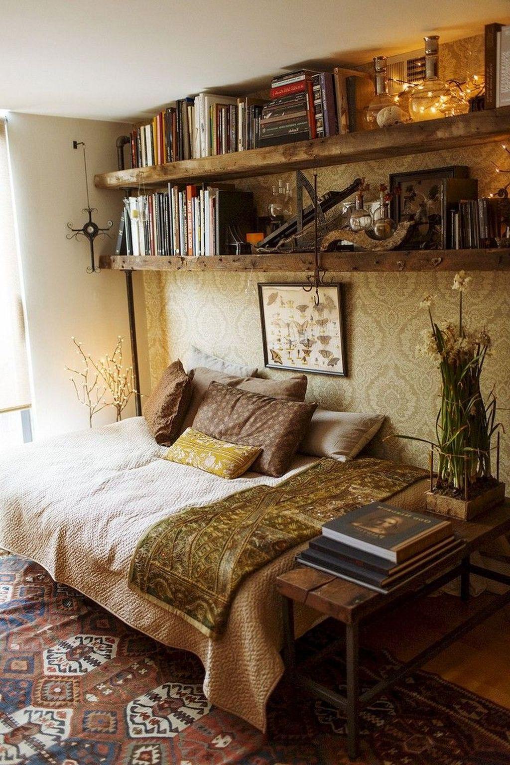 Amazing Bohemian Farmhouse Living Room Design Ideas 30