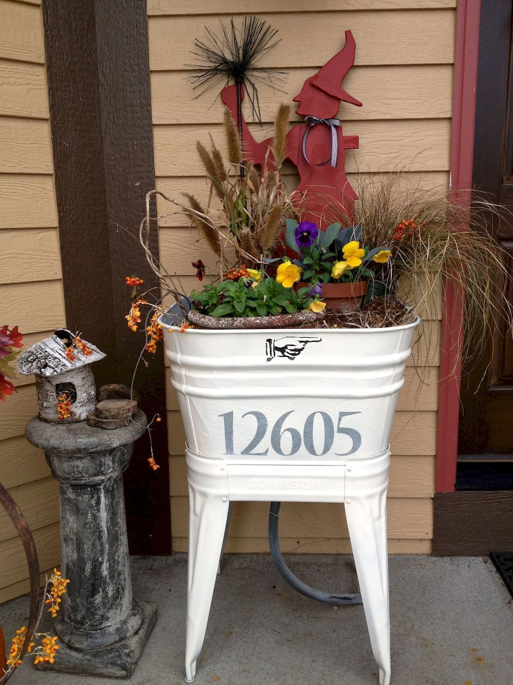 Amazing Fall Planter Ideas Best For Front Porches 08