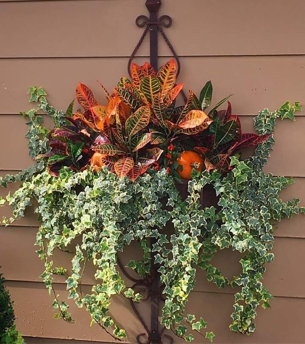 Amazing Fall Planter Ideas Best For Front Porches 21