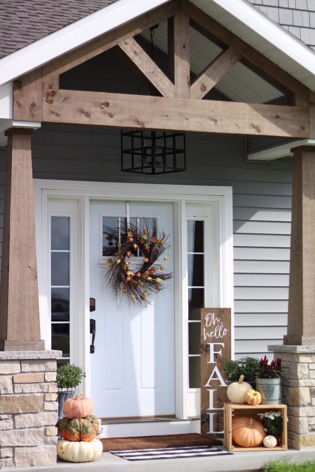 Amazing Fall Planter Ideas Best For Front Porches 30