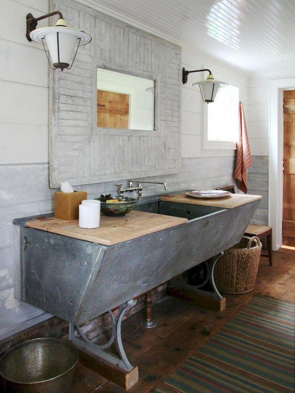 Amazing Rustic Barn Bathroom Decor Ideas 13