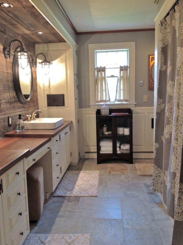 Amazing Rustic Barn Bathroom Decor Ideas 17