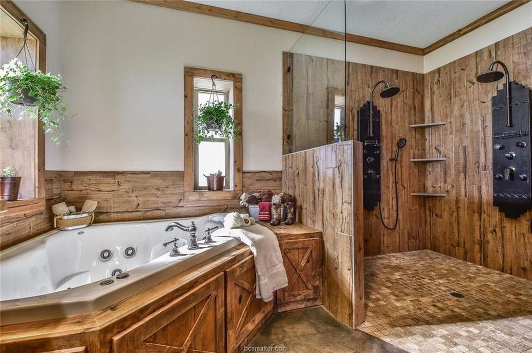 Amazing Rustic Barn Bathroom Decor Ideas 19