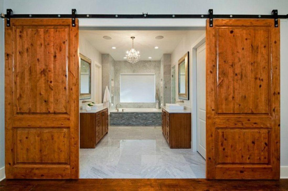 Amazing Rustic Barn Bathroom Decor Ideas 21