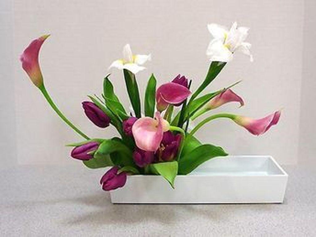 Amazing Unique Flower Arrangements Ideas For Your Home Decor 18