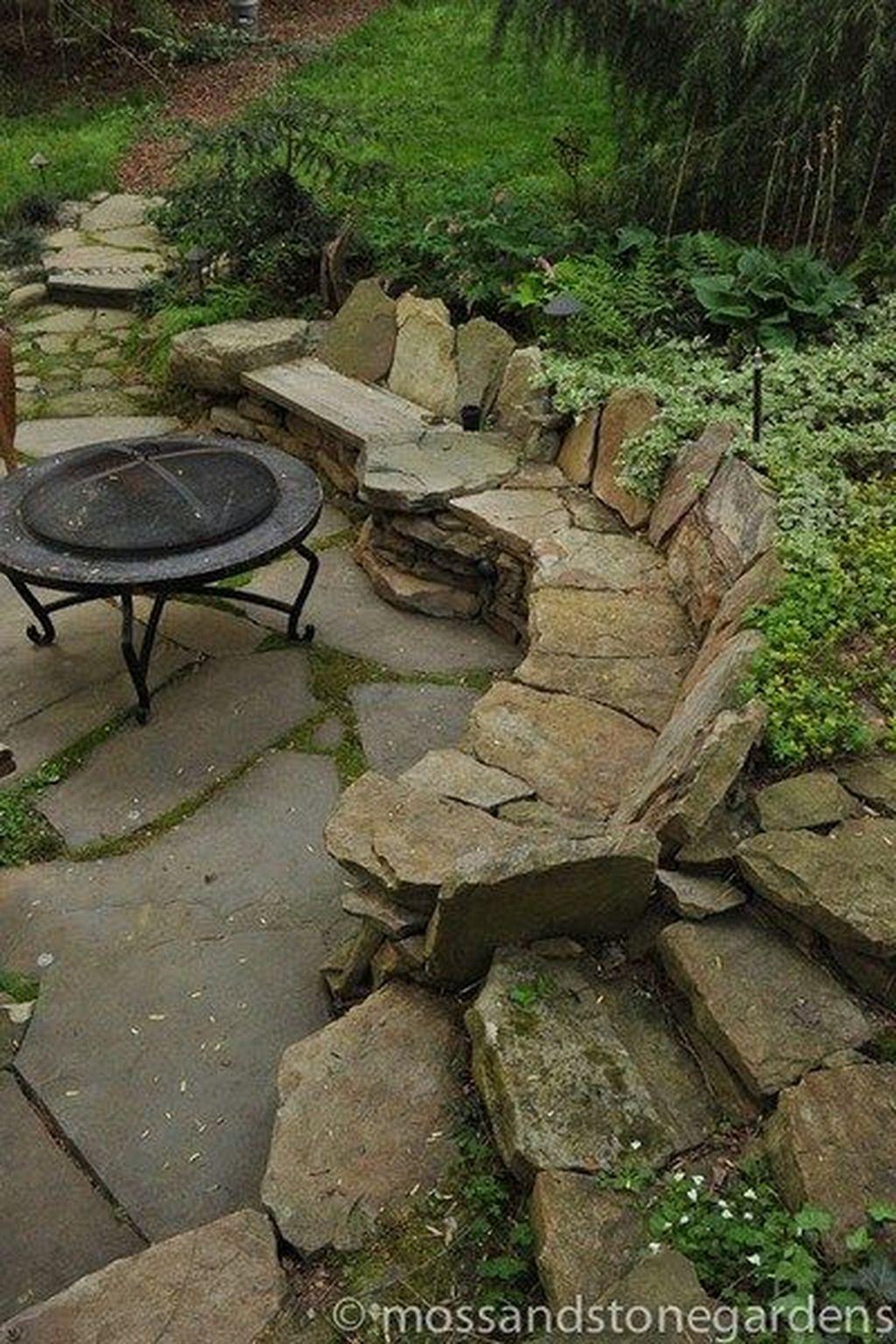 Awesome Flagstone Patio Design Ideas 06