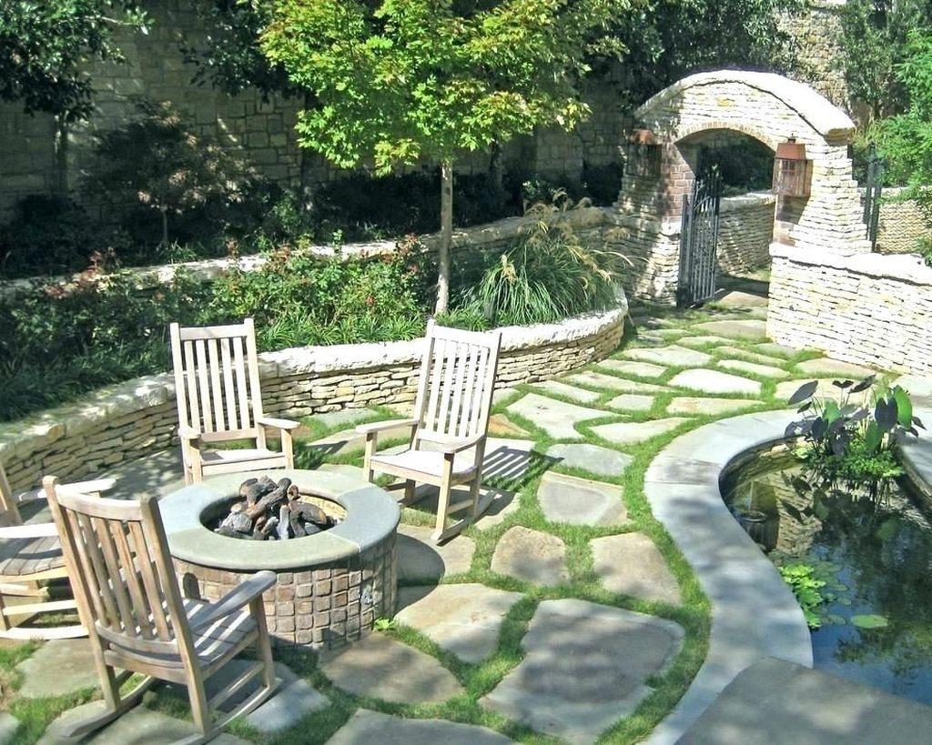 Awesome Flagstone Patio Design Ideas 18